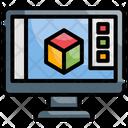 Graphics Software Analysis Development Icon