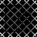 Graphite Mirror Icon