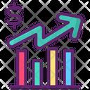 Graphs Analysis Analytics Icon