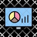 Graphs Lcd Monitor Icon