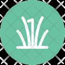 Grass Leaves Gardening Icon