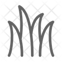 Grass Lawn Meadow Icon