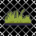 Grass Farm Greenery Icon