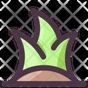 Spring Grass Green Icon