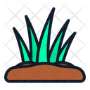 Grass Spring Nature Icon