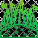 Grass Plant Ground Icon