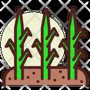 Grass Plant Farming Icon