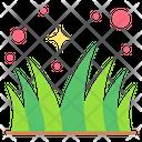 Grass Field Lawn Icon