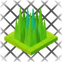 Tall Grass Greenery Icon