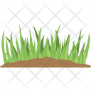 Grass Field Agriculture Icon