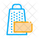 Grate Cheese Dairy Icon