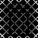 Grater Shredder Utensil Icon
