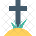 Grave Graveyard Scary Icon