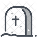 Grave Death Cross Icon