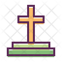 Grave Cemetery Tomb Icon