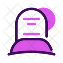 Grave Halloween October Icon