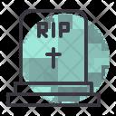 Grave Cemetery Tomb Icon