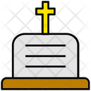 Halloween Grave Graveyard Icon