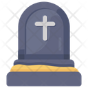 Grave Funeral Home Tombstone Icon