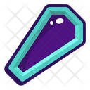 Coffin Object Halloween Icon