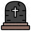 Grave Spooky Terror Icon