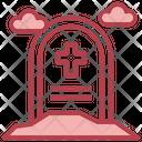 Grave Death Rip Icon
