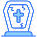 Grave Rip Death Icon