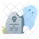 Grave And Ghost Icon