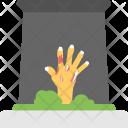 Zombie Hand Grave Icon