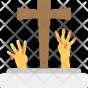 Grave Hand Icon