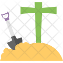 Grave With Spade Icon