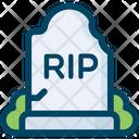 Grave Tombstone Cemetery Icon
