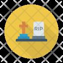 Grave Gravestone Tombstone Icon