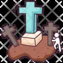 Gravestone Headstone Stone Icon