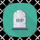 Gravestone Coffin Cemetery Icon