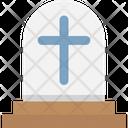 Gravestone Holy Cross Grave Icon