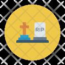 Gravestone Grave Tombstone Icon