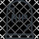 Gravestone Cemetery Grave Icon