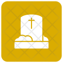 Grave Tombstone Csket Icon