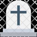 Gravestone Holy Cross Icon