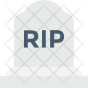 Gravestone Tombstone Headstone Icon