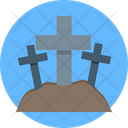 Graveyard Halloween Graveyard Scary Icon