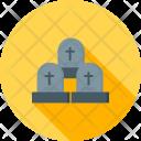 Graveyard Funeral Death Icon