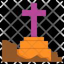 Graveyard Dead Halloween Icon