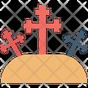 Graveyard Holy Cross Cemetery Icon