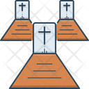 Graveyard Cemetery Necropolis Icon