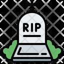 Graveyard Rip Death Icon