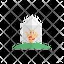 Graveyard Zombie Hand Icon