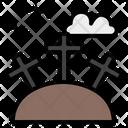 Graveyard Terror Scary Icon