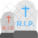 Graveyard Scary Halloween Icon